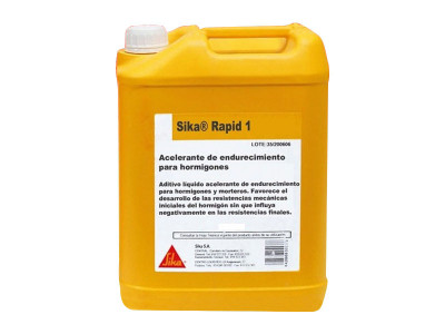 Sika Rapid 1 - High Early Strength Accelerator