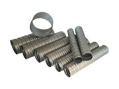 Galvanised Metal Spiral Grout Tube
