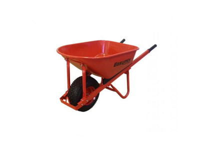 EasyMix Wheelbarrow Steel Tray Heavy Duty