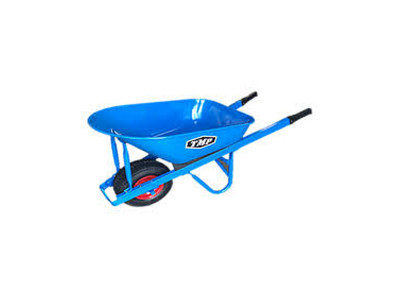 TMP - 100ltr Heavy Duty Steel Wheelbarrow 1.2 mm Sheet