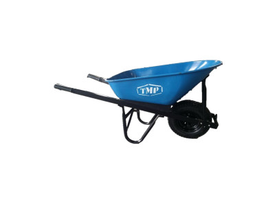 TMP - 100ltr Heavy duty Steel Wheelbarrow 1.0 mm Sheet