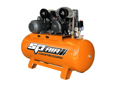 5.5Hp Twin Cast Electric Stationary Air Compressor