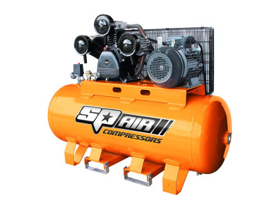 7.5Hp Triple Cast Electric Stationary Air Compressor