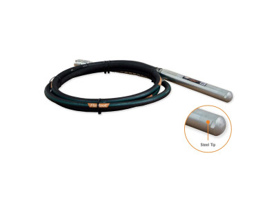 Flexshaft Concrete Vibrator Steel Tip