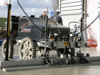 MS-355 Laser Guided Screed