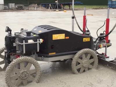 MS-550 Laser Guided Screed