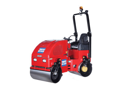 Hoppt - DVR16 - Ride-On Vibratory Roller -1.5T