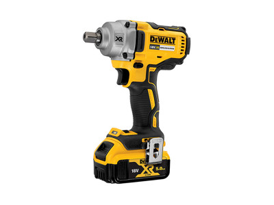 Dewalt 18V XR Brushless Compact High Torque Wrench - 2 X 5AH - DCF894P2
