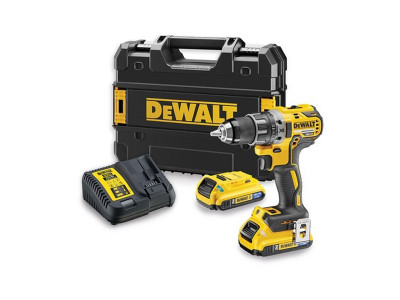 Dewalt 18V XR Li-Ion Brushless Drill Driver Tool Connect Bluetooth Batteries - DCD791D2B