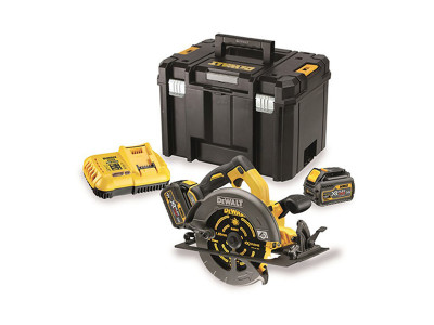 Dewalt 54V XR Flexvolt 190mm Circular Saw Kitted 2x Batteries - DCS575T2