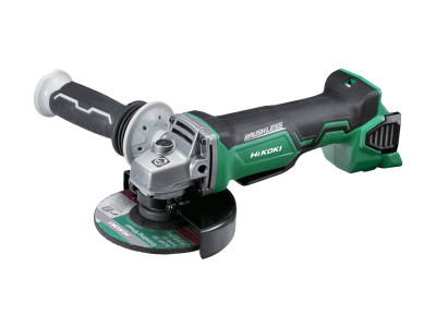 Hikoki-Hitachi 18V Brushless 125mm Angle Grinder with Paddle Switch - G18DBBAL(H5Z)