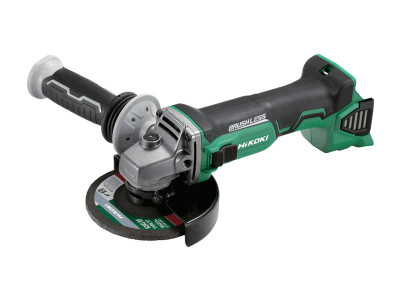 Hikoki-Hitachi 18V Brushless 125mm Angle Grinder with Slide Switch - G18DBL(H5Z)