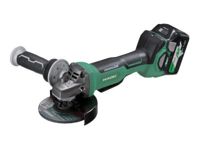 Hikoki-Hitachi 36V Brushless 125mm Angle Grinder with Paddle Switch - G3613DB(HRZ)