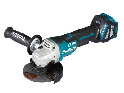 Makita 18V Brushless 125mm Paddle Switch Angle Grinder - DGA517Z