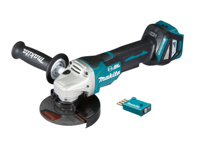 Makita 18V Brushless AWS 125mm Paddle Switch Angle Grinder - DGA518ZU