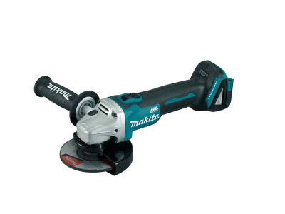 Makita 18V Mobile Brushless 125mm Slide Switch Angle Grinder - DGA506Z