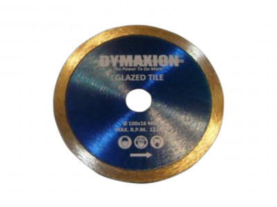Dymaxion Diamond Blades Continuous Rim for Cutting Glazed Tiles