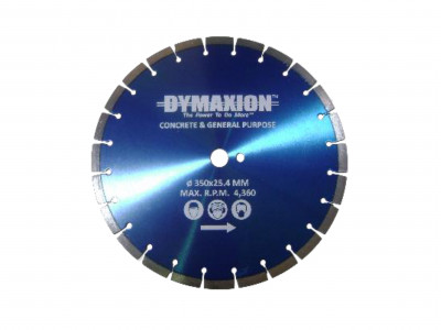 Dymaxion Diamond Blades for Bench Saws & Petrol Saws