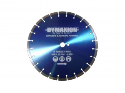 Dymaxion Diamond Blades Segmented for Cutting Concrete