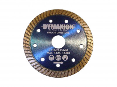 Dymaxion Diamond Blades Turbo for Cutting Brick