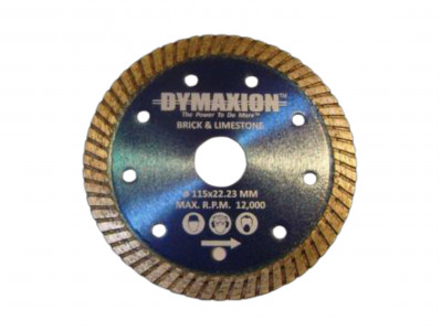 Dymaxion Diamond Blades Turbo for Porcelain and Granite