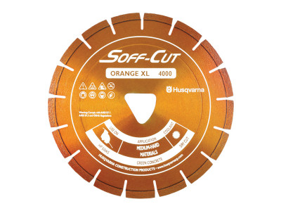 Husqvarna Soff-Cut XL-4000 Diamond Blade