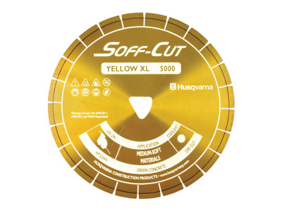 Husqvarna Soff-Cut XL-5000 Diamond Blade