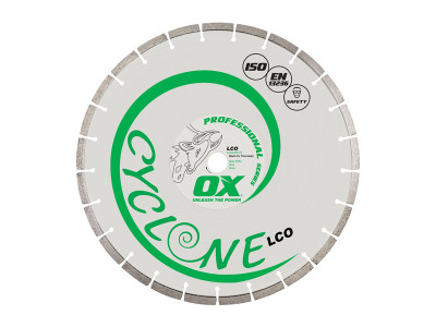 OX Professional LCO Segmented Diamond Blade
