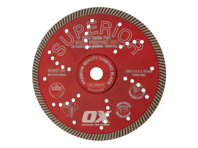 OX Professional MPS Turbo Superior Diamond Blade