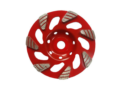 Tornado Diamond Tri Segment - Cup Wheel