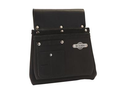 Buckaroo 2 Pocket Nailbag - Black