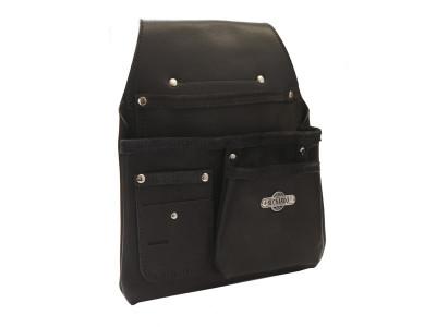 Buckaroo 3 Pocket Low Drop Bag - Black