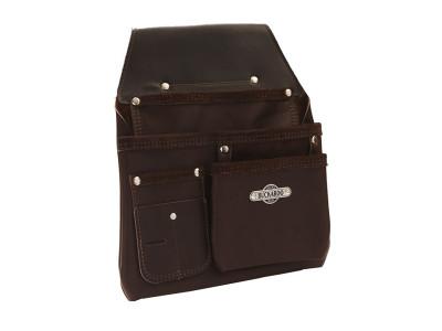 Buckaroo 3 Pocket Low Drop Bag - Brown