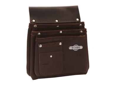 Buckaroo 3 Pocket Nailbag - Brown