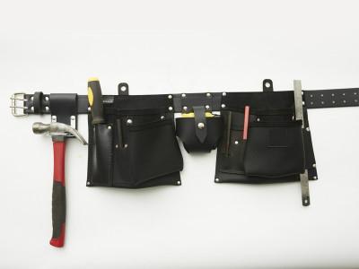 Buckaroo Apron Style Tool Belt - Black