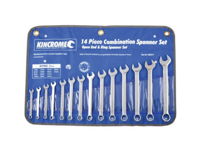 Kincrome Combination Spanner Set 14 Piece