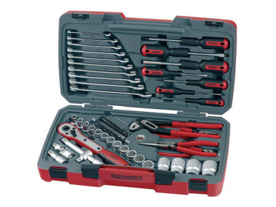 Tengtools 68 pc - 1/2' Dr Socket & Tool Set