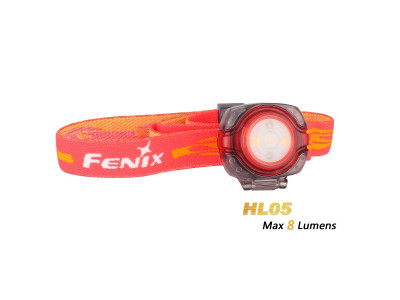 Fenix HL05 - 8  Lumens LED Headlamp