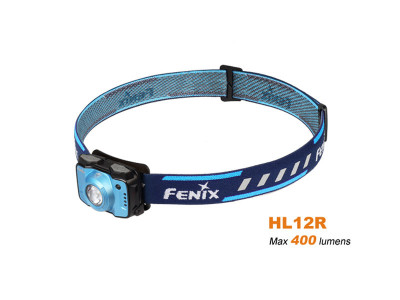 Fenix HL12R - 400 Lumens Rechargeable LED Headlamp