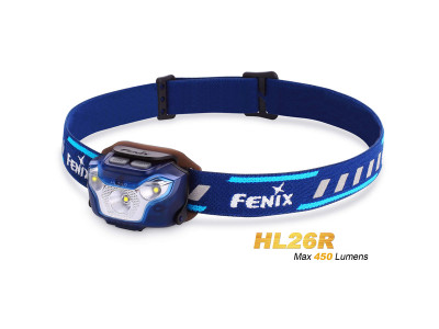 Fenix HL26R - 450 Lumens Rechargeable LED Headlamp