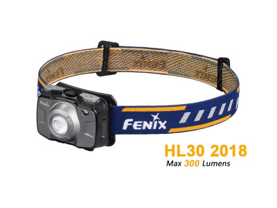 Fenix HL30 V18 - 300 Lumens Rechargeable LED Headlamp