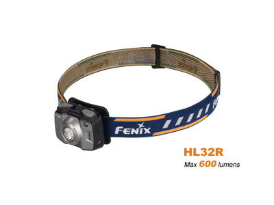 Fenix HL32R - 600 Lumens Rechargeable LED Headlamp