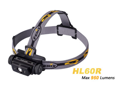 Fenix HL60R - 950 Lumens Rechargeable LED Headlamp