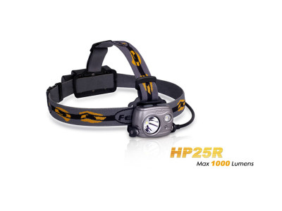 Fenix HP25R - 1000 Lumens Rechargeable LED Headlamp