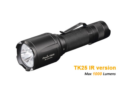 Fenix TK25 - 1000 Lumens White / IR Beam Led Torch