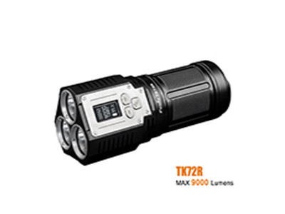 Fenix TK72R - 9000 Lumen Rechargeable Led Torch