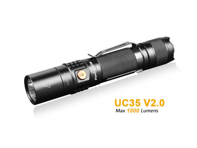 Fenix UC35 V2.0 - 1000 Lumens Rechargeable LED Torch