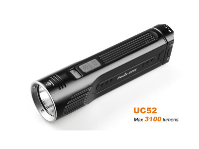 Fenix UC52 - 3100 Lumens Rechargeable LED Torch