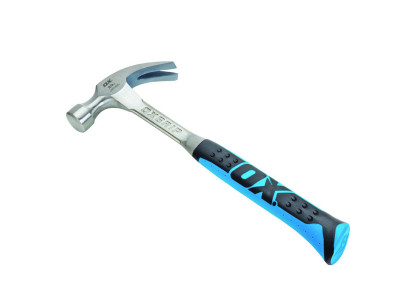 OX Professional One Piece Steel Claw Hammer 20oz