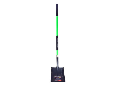 Trade Fibreglass Square Mouth Shovel Long Handle